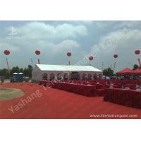 Wholesale Outdoor Aluminum Alloy Skeleton Event Tent with Flame Retardant PVC Fabric from china suppliers
