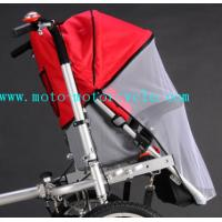 Wholesale Red Bed Nets Baby Stroller Bike With Disk Brakes On Both Wheels from china suppliers