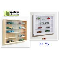 Wholesale 4 Layers wooden modern Wall Mounted Display Cabinet , 78 x 9.4 x 58 (WxDxH) from china suppliers