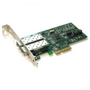 Wholesale Gigabit Fiber Optic Dual Port Server Adapter (SFP Slot) Pcie Gigabit NIC from china suppliers