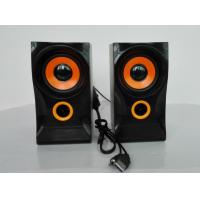 Quality Mobile Phone Small Computer Speakers Big Sound Wooden With USB Port for sale