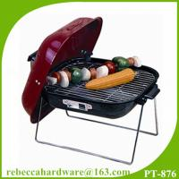 Wholesale Professtional Quality Charcoal BBQ Grill 14 Hamburger Barbecue Grill from china suppliers
