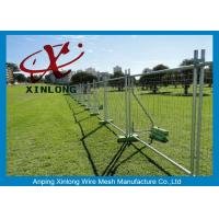 Wholesale Playground Temporary Chain Link Fence Panels Various Size / Color Acceptable from china suppliers