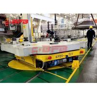 Wholesale 90 degree turning transfer cart industrial turntable for rail transfer car from china suppliers