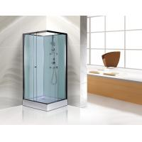 Buy cheap Free Standing Square Corner Shower Stall Kits SGS ISO9001 Certification from wholesalers