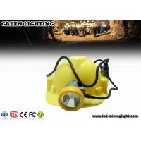 Wholesale 15000 Lux Led Miners Lights For Hard Hats , 6600mah Cord Safety Led Miners Cap Light from china suppliers