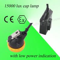 Wholesale Safety 3V Rechargeable LED Miners Cap Lamp 110MA Waterproof With 6.5Ah Battery from china suppliers