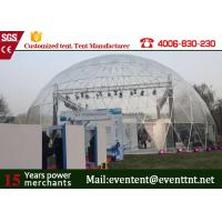 Wholesale Aluminum Alloy  Frame Large Dome Tent House 25 Meters Movable For Big Campaign from china suppliers