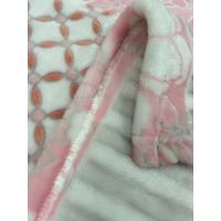 Quality 150 * 200 cm Bedding Article / Bedding Products Double Brushed Blanket Flannel for sale