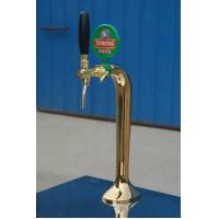 Wholesale Golden beer tower with one tap or two taps from china suppliers