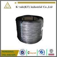 Wholesale High Tension Hot Dip 2mm Galvanized Steel Wire high carbon steel wire from china suppliers