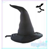Wholesale 3.6m Oxford Halloween Inflatable Wizard Hat for Halloween Decoration from china suppliers