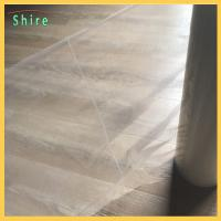 Wholesale Crack Line Carpet Protection Film Poly Ethylene sticky carpet protector roll from china suppliers