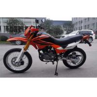 Quality Orange Gas Powered Dirt Bikes 250cc4 Stroke Singe Cylinder With 12L Tank for sale