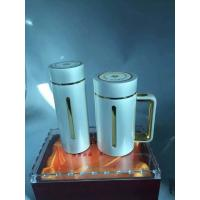 silver  tumbler inner mug is 5g silver material ,outsider is stainless steel material