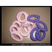 Wholesale Custom color wrist coil and split ring, spiral wrist key ring, key coils from china suppliers