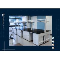 Wholesale All Steel Material Laboratory Island Bench Dental Lab Furnitue With Shelf from china suppliers