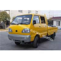 Wholesale Double Cab Truck Transport Trailer , Fully Electric Truck With 3kw Motor Power from china suppliers