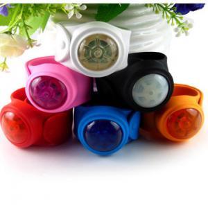 Quality slap led wrist band,  led snap bracelet for sale