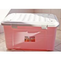 Wholesale GJ5221 Plastic storage box, Turn -cover Structure, Pink, Red, Green Plastic Storage Crate from china suppliers