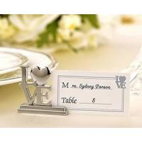 Wholesale Silver LOVE Place Card Holders from china suppliers