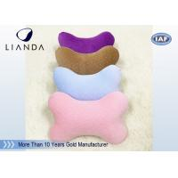 Wholesale Cute Memory Foam Pillows for Cervical Spine Protection , colorful Car Neck Rest Pillow from china suppliers