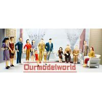 Wholesale 7.0cm Miniature Interior Peoples Female Model Figures OEM ODM Custom Packing from china suppliers
