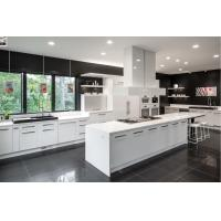 Wholesale modern white solid wood custom cabinets new kitchen cabinet design from china suppliers
