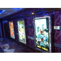 Wholesale Edge Lit Crystal Movie Poster Light Box Advertising Display Snap Lock from china suppliers