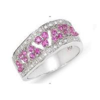 Wholesale Diamond & pink sapphire ring from china suppliers
