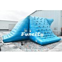 Quality Fire Resistance Inflatable Water Slide Inflatable Water Tool For Seashore Park for sale