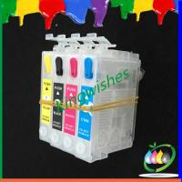 Wholesale 4 color printer refillable ink cartridge for Epson WF-2531 with chip from china suppliers