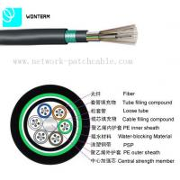 Wholesale Outdoor 2~288 core Optical Fiber Cable GYTY53 Loose Tube Stranding from china suppliers