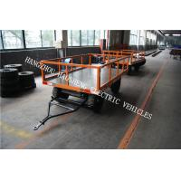 Wholesale Fence Flat Bed Car Trailer , 2 Ton Utility Trailer With Small Loading Table from china suppliers