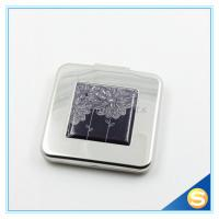 Wholesale Top Quality Fashion Promotional Square Promotional Metal Pocket Mirror from china suppliers
