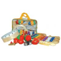 Wholesale Plastic Bag Kids Musical Instrument , 10 Pieces Mini Percussion Set from china suppliers