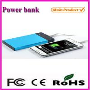 Wholesale Hot sale 6500mah 7000mah portable power bank! New idea portable 6500mah powerbank from china suppliers