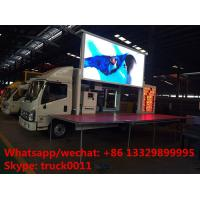 Wholesale Euro 5 Foton P6 mobile outdoor LED billboard advertising  vehicle for sale, FOTON mobile LED advertising truck for sale from china suppliers