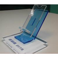 Wholesale Clear Acrylic Mobile phone Display Holders with silk screen printing from china suppliers