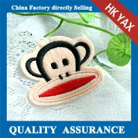 Wholesale W0518 Monkey hot fix embroidery patches,china wholesale embroidered patches from china suppliers