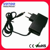 Buy cheap EU plug 9v AC DC Power Adapter 1600ma / 2000mA Short Circuit Protection from wholesalers