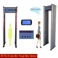 Wholesale Public Area Gate Metal Detector Archway / Walk Through Security Scanners 24 Detecting Zones from china suppliers