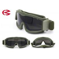 Wholesale High Impact Resistance PC Lenses Military Goggles Safety Tactical Glasses Z87 from china suppliers