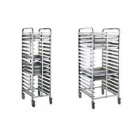 Wholesale 16/32 Tray Full-Size Bun / Sheet Pan Rack Assembled or Welding Type Stainless Steel Catering Equipment from china suppliers