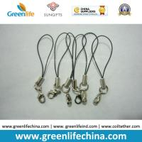 Wholesale Standard Nylon Black String Loop with Mini  Lobster Clasp for Attaching Pendants from china suppliers