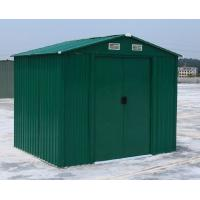 Wholesale OEM Standard Metal Storage Shed , 4 x 6ft With Sliding Door , Powder Coated Frame from china suppliers