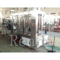 Quality Fully Automatic Juice Filling Machine For 0.25 - 2L Bottle 1 Year Warranty for sale
