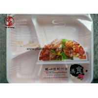 Quality Transparent Heat Seal Printed Packaging Film for Packing Disposable Lunch Box for sale