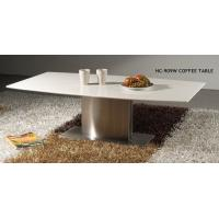 Wholesale Commericial And Residential White Coffee Tables With Marble Tops 1300*700*450mm from china suppliers