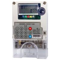 Wholesale 1 Phase 5(60)A STS Prepaid Meters Two Way Communication kWh Prepayment Metering from china suppliers